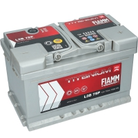 Fiamm Titanium PRO 75Ah 730A/EN L3B 75P