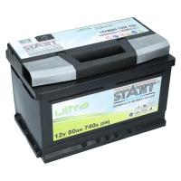 Autobatterie 80Ah  680 A(EN) Ultra Start SMF