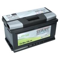Autobatterie 80Ah  720 A(EN) Ultra Start SMF Lang