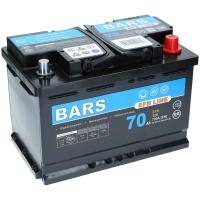 Bars EFB 12V 70Ah 720A/EN +Pol rechts