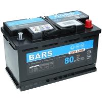Bars EFB 12V 80Ah 800A/EN +Pol rechts