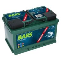 Bars Premium 12V 75Ah 750A/EN +Pol rechts