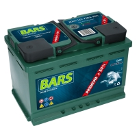 Bars Premium 12V 80Ah 780A/EN +Pol rechts