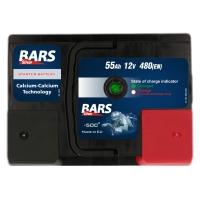 Bars Silver 12V 55Ah 480A/EN +Pol rechts