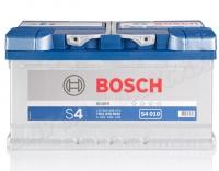 Bosch S4 010 80Ah 740 A/EN  +Pol rechts