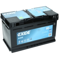 Exide AGM 12V 80Ah 800A EN +Pol rechts EK800