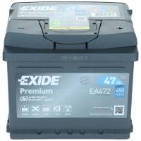 Exide Premium EA472 47Ah 450AEN Autobatterie Starterbatterie EA472S