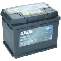 Exide Premium EA640 64Ah 640AEN Autobatterie Starterbatterie EA640S