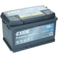 Exide Premium EA722 72Ah 720AEN Autobatterie Starterbatterie EA722S