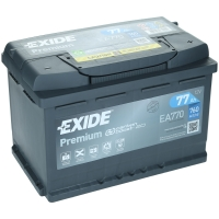 Exide Premium EA770 77Ah 760AEN Autobatterie Starterbatterie EA770S