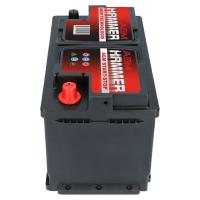Hammer AGM Starterbatterie 12V 80Ah 800A/EN +Pol Rechts