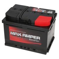 Autobatterie Max Amper 12V 55Ah 480A/EN +Pol rechts
