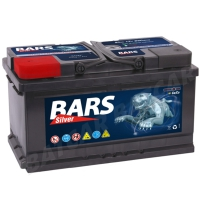 Bars Silver 12V 90Ah 850A/EN +Pol links