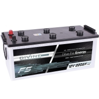 DIVINE ENERGY F5 220Ah | DC - Deep Cycle Technologie
