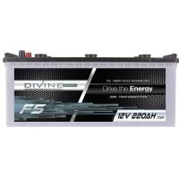 DIVINE ENERGY F5 220Ah   DC - Deep Cycle Technologie