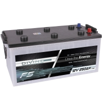 DIVINE ENERGY F5 250Ah | DC - Deep Cycle Technologie