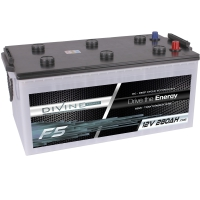 DIVINE ENERGY F5 280Ah | DC - Deep Cycle Technologie