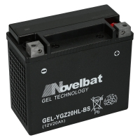 Novelbat GEL 12V 20Ah 300 A/EN GEL YGZ20HL-BS GEL