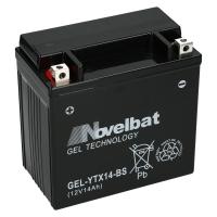 Novelbat GEL 12V 14Ah 150 A/EN YTX14-BS GEL