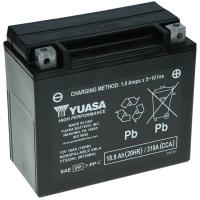 Yuasa AGM 12V 18,9Ah 310A CCA +L YTX20HL-BS
