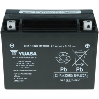 Yuasa AGM 12V 22,1Ah 350A CCA YTX24HL-BS