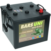 Bars UNI Nato Block Batterie 125Ah 850 A/EN Unimog