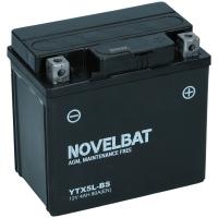 Novelbat AGM 12V 4Ah 80A/EN +R YTX5L-BS
