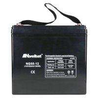 Gel Batterie 12V 55Ah Novelbat NG55-12 Deep Cycle GEL Rollstuhl, Elektromobile