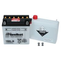 Novelbat 12V 9Ah 90A/EN +L YB9L-B