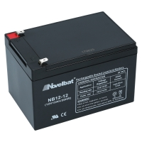 Novelbat 12V 12Ah AGM VRLA Batterie Gel Akku Scooter USV Notstromakku