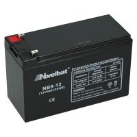 Novelbat 12V 9Ah AGM VRLA Batterie Gel Akku Scooter USV Notstromakku