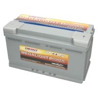 Megalight Power AGM Batterie 12V 100Ah