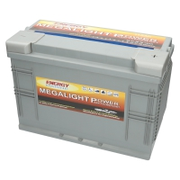 Megalight Power AGM Batterie 12V 115Ah