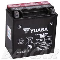 Yuasa AGM 12V 14,7Ah 230A CCA +L YTX16-BS
