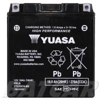 Yuasa AGM 12V 18,9Ah 270A CCA +L YTX20CH-BS