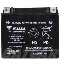 Yuasa AGM 12V 18,9Ah 310A CCA +R YTX20HL-BS