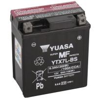 Yuasa AGM 12V 6,3Ah 100A CCA +L YTX7L-BS