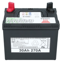 Yuasa U1R 12V 30Ah Starterbatterie Gartenmaschinen Batterie U1R-60M