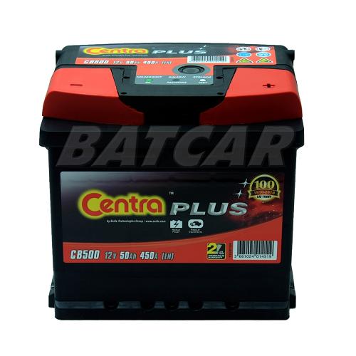 autobatterie centra plus 12v 50ah 450a en cb501 autobatterien shop starterbatterie. Black Bedroom Furniture Sets. Home Design Ideas