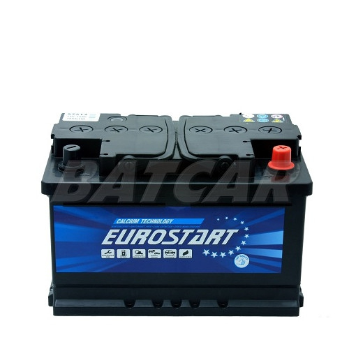 autobatterie eurostart 12v 75ah 700a en autobatterien. Black Bedroom Furniture Sets. Home Design Ideas