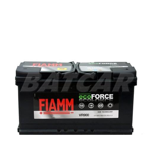 fiamm eco force 12v 90ah 900a en autobatterien. Black Bedroom Furniture Sets. Home Design Ideas