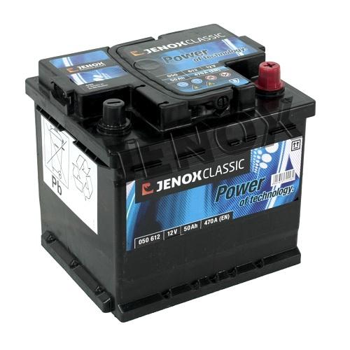 autobatterie jenox classic 12v 50ah 470a en autobatterien. Black Bedroom Furniture Sets. Home Design Ideas