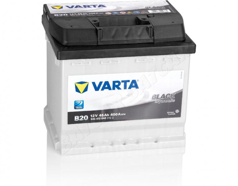 autobatterie 45ah 400a