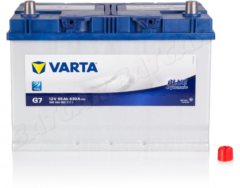 varta blue dynamic g7 12v 95ah 800a en autobatterie shop starterbatterie 12v batterie. Black Bedroom Furniture Sets. Home Design Ideas