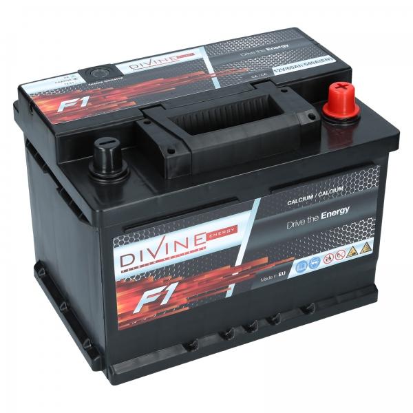 autobatterie divine f1 12v 60ah 540a en autobatterien. Black Bedroom Furniture Sets. Home Design Ideas