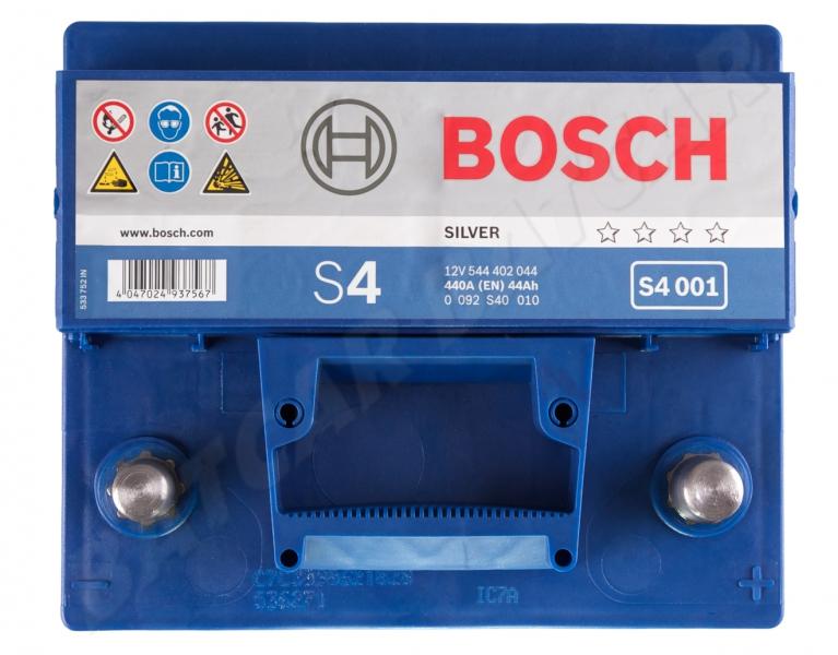 bosch s4 001 12v 44ah 440a en autobatterie shop starterbatterie 12v batterie. Black Bedroom Furniture Sets. Home Design Ideas