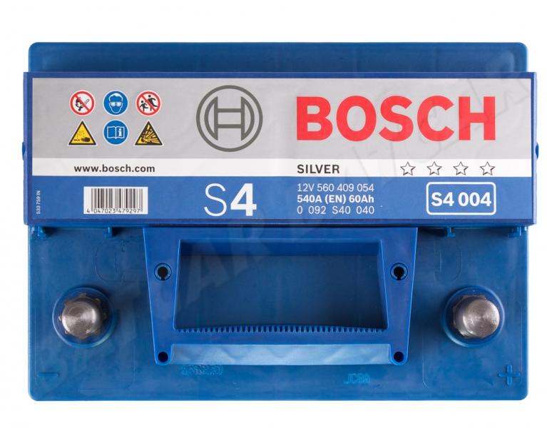 bosch s4 004 12v 60ah 540a en autobatterie shop. Black Bedroom Furniture Sets. Home Design Ideas