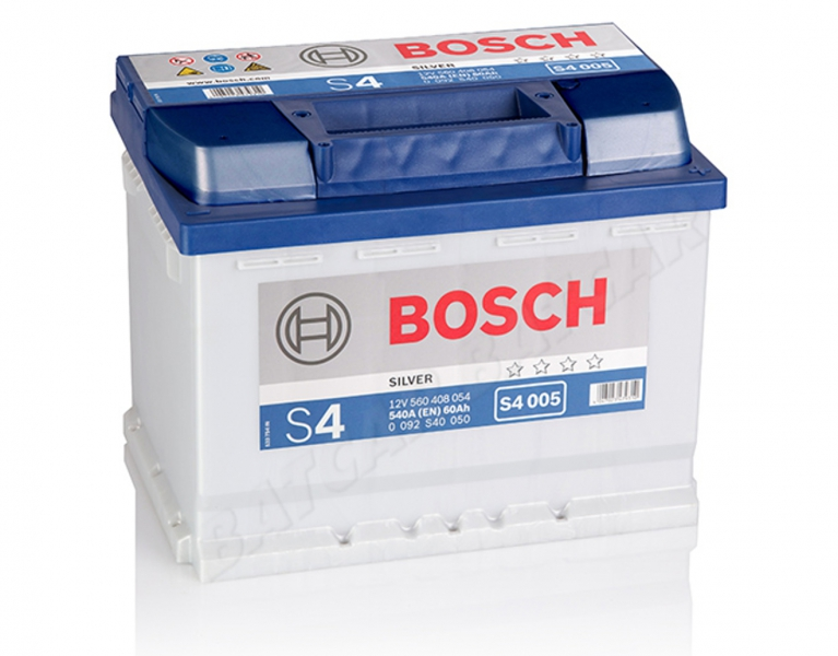 bosch s4 005 12v 60ah 540a en autobatterie shop. Black Bedroom Furniture Sets. Home Design Ideas