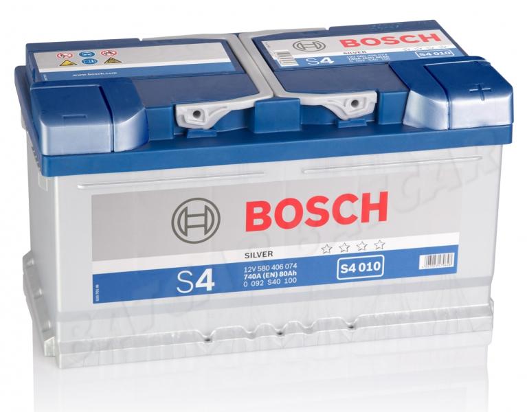 bosch s4 010 12v 80ah 740a en autobatterie shop starterbatterie 12v batterie. Black Bedroom Furniture Sets. Home Design Ideas