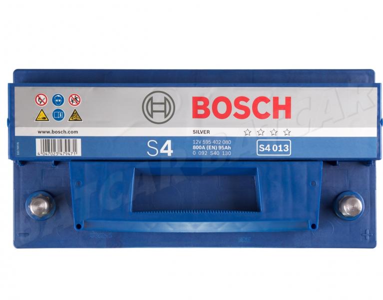 bosch s4 013 12v 95ah 800a en autobatterie shop starterbatterie 12v batterie. Black Bedroom Furniture Sets. Home Design Ideas